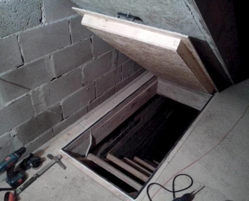 Утепление погреба в гараже