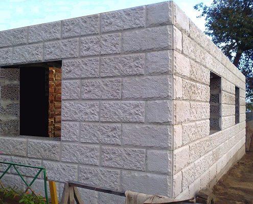 Утепление стен в бане из блоков