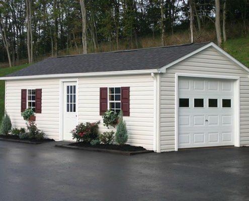 Утепление двускатной крыши гаража