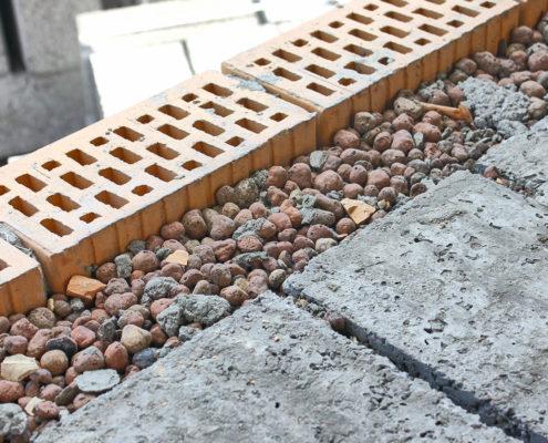 Утепление погреба керамзитом