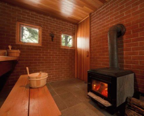 Утепление пола и потолка в кирпичной бане