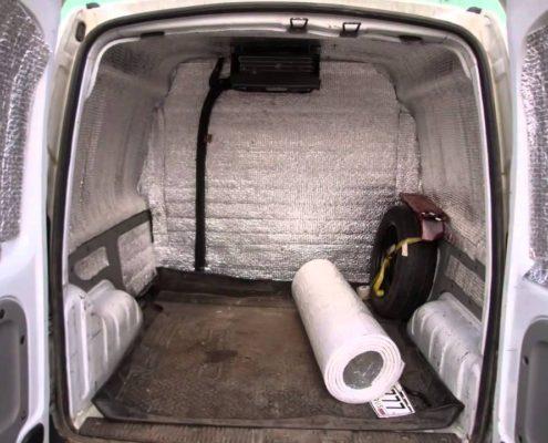 Утепление фургона пенофолом