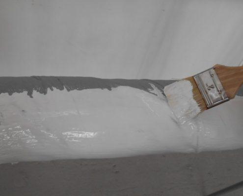 Утепление гаража теплоизоляционной краски