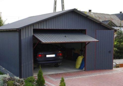 Утепление подъемно-поворотных ворот в гараже