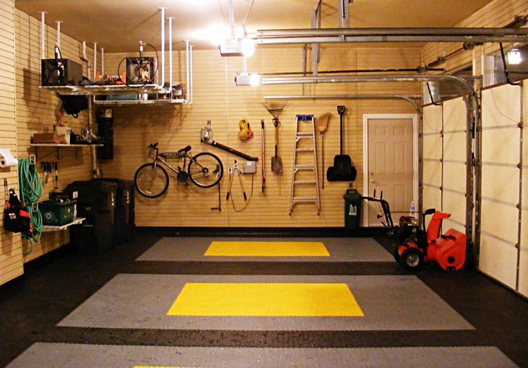 Утепление гаража изнутри