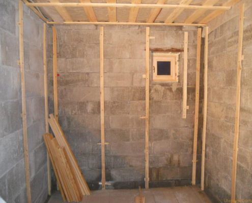 Утепление бани из блоков изнутри